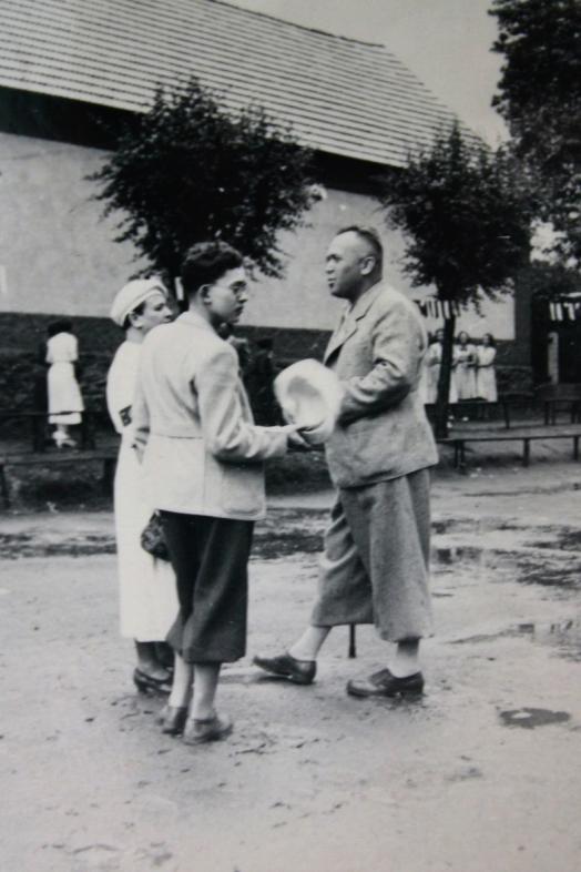 30. léta Josef s matkou a otcem