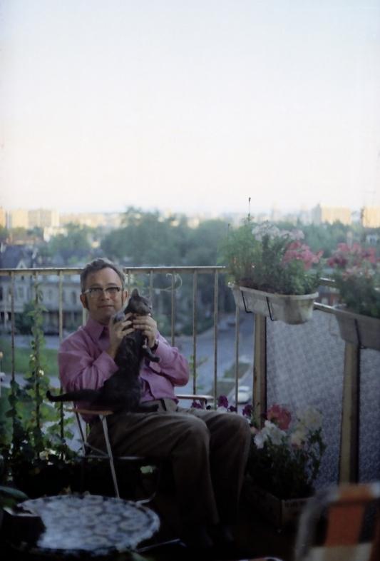 70. léta začátek - na balkóně ve Wellesley