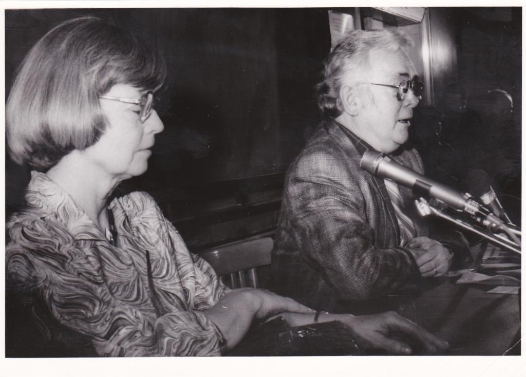 1990 Praha FFUK s J.Emmerovou