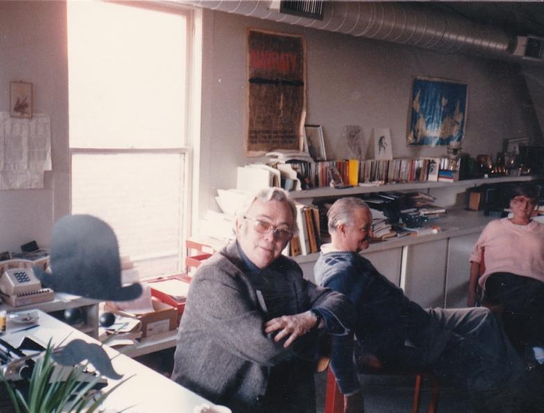1987 04 v redakci s Lumírem a Zdenou