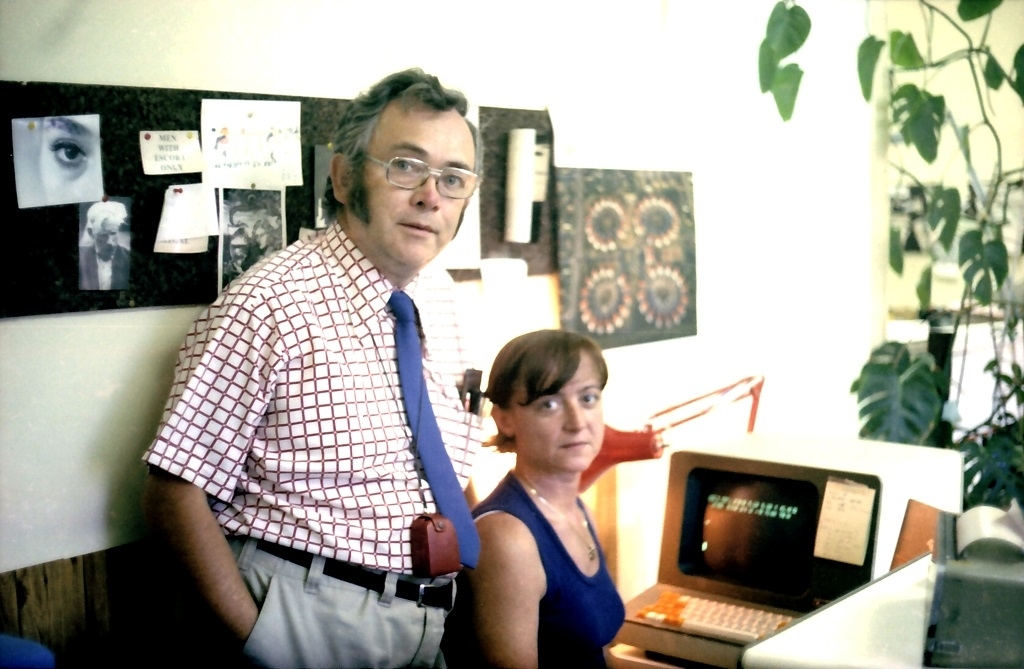 70. léta Josef a Zdena v redakci