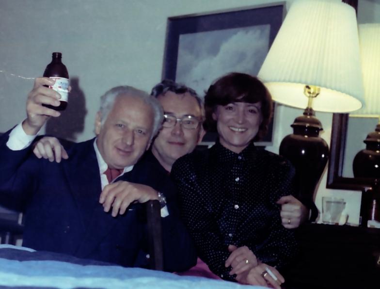 70. léta S Arnoštem Lustigem
