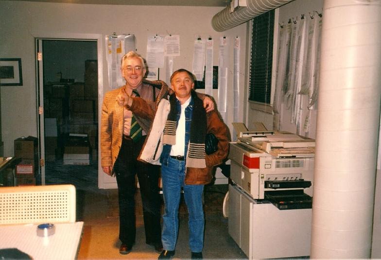 80. léta Josef s Karlem Krylem v redakci