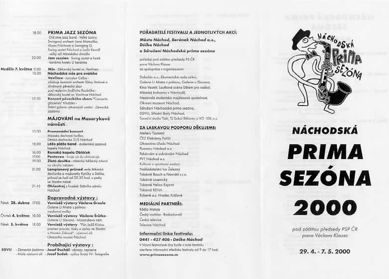 program prima sezóna 2000