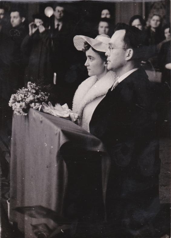 1958 31 03 svatba v kostele