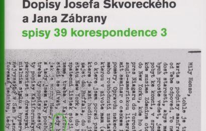 Spisy Josefa Škvoreckého – EDICE