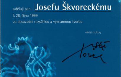 1999 Státní cena za literaturu